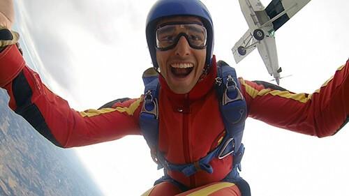 parachutisme gers